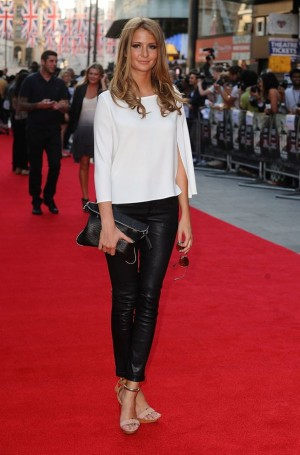 Millie Mackintosh Attends World Premiere Of Ill Manors